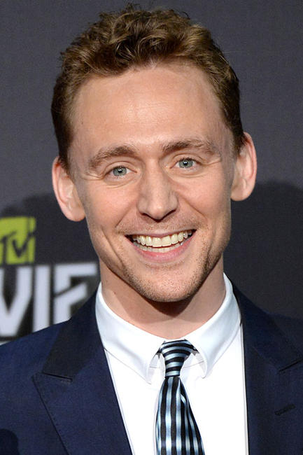 Tom Hiddleston at the 2013 MTV Movie Awards in Culver City, California.